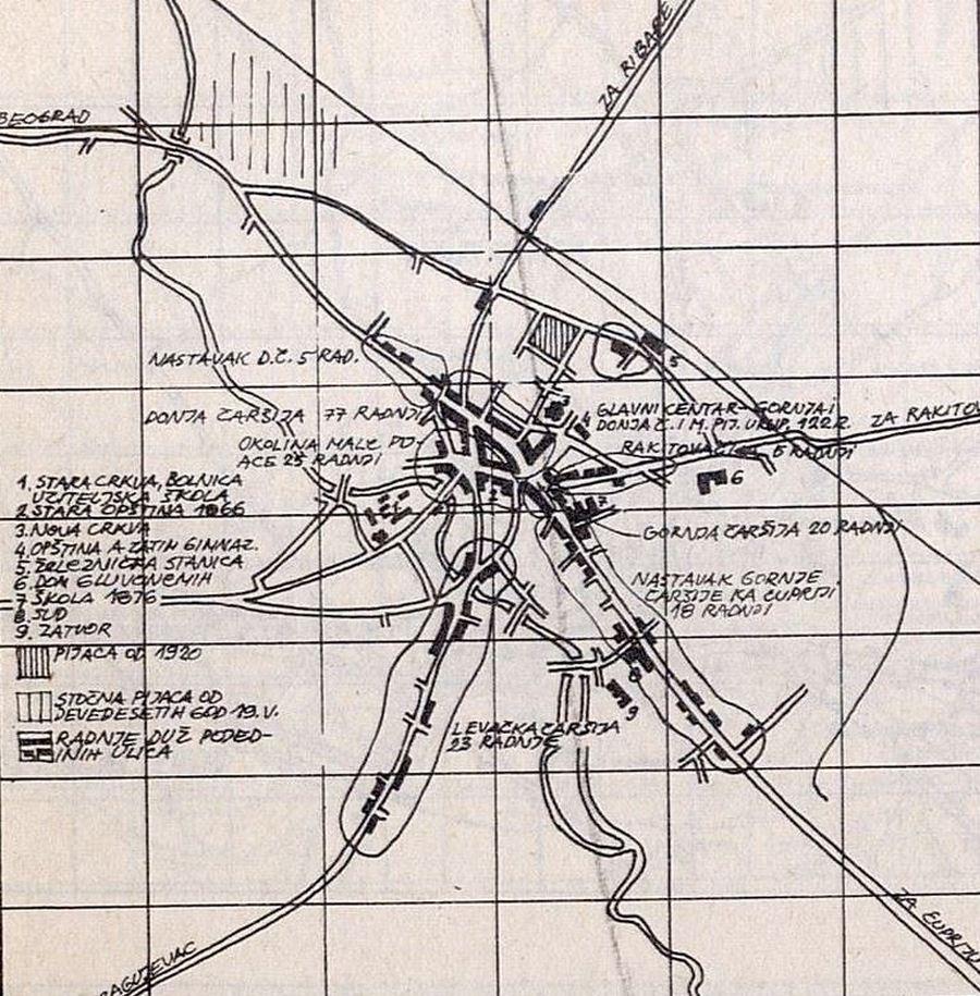mapa jagodine Topografske Karte Mape Jagodine mapa jagodine