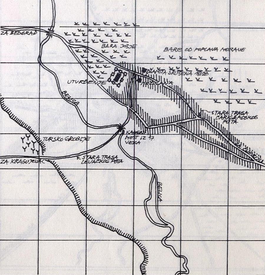 Topografske Karte Mape Jagodine